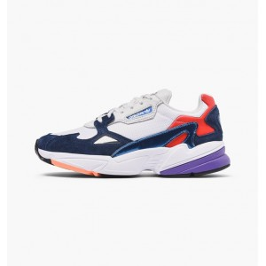 ADIDAS FALCON W CRYSTAL WHITE  / COLLEGIATE NAVY