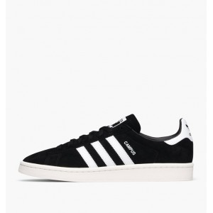 ADIDAS CAMPUS CORE BLACK / CLOUD WHITE / CHALK WHITE