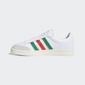 ADIDAS AMERICANA LOW CLOUD WHITE /RED/GREEN