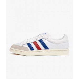 ADIDAS AMERICANA LOW FTWR WHITE/COLLEGIATE ROYAL-SCARLET RED