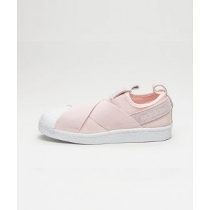 ADIDAS SUPERSTAR SLIP-ON W HALO PINK