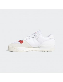 ADIDAS RIVALRY LOW WHITE / GLORY RED