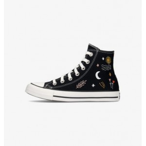 CONVERSE CHUCK TAYLOR ALL STAR HIGH-TOP OKAY TO WANDER BLACK/WHITE