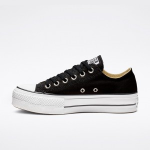 CONVERSE CHUCK TAYLOR ALL STAR LIFT LOW BLACK / WHITE