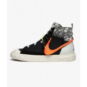 NIKE BLAZER MID X READYMADE BLACK/TOTAL ORANGE