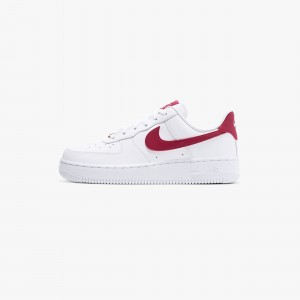 NIKEWMNS AIR FORCE 1 07 WHITE / RED