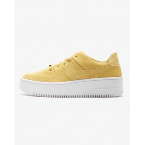 NIKE AIR FORCE 1 SAGE LOW CELERY/WHITE