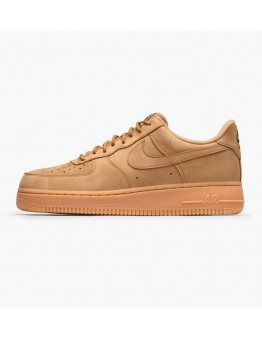 NIKE AIR FORCE 1 '07 WB FLAX - GUM LIGHT BROWN