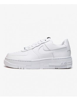 NIKE WMNS AIR FORCE 1 PIXEL BLACK / BLACK / WHITE