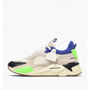PUMA X SANKUANZ RS-X CLOUD CREAM - ROYAL BLUE