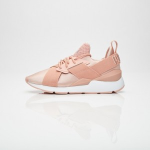 PUMA MUSE SATIN II WN'S PEACH BEIGE / PUMA WHITE