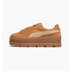 PUMA X FENTY CLEATED CREEPER SUEDE GOLDEN BROWN / LARK
